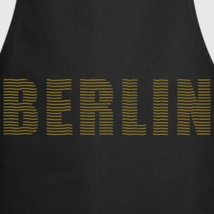 Berlin line font   Aprons - Cooking Apron
