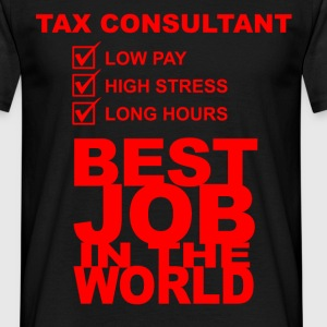 tax consultant T-Shirts - Men's T-Shirt