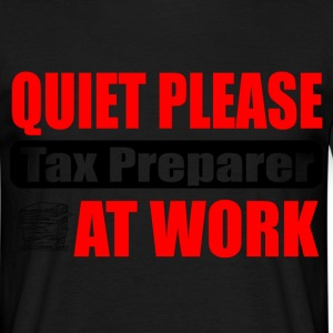 tax preparer T-Shirts - Men's T-Shirt