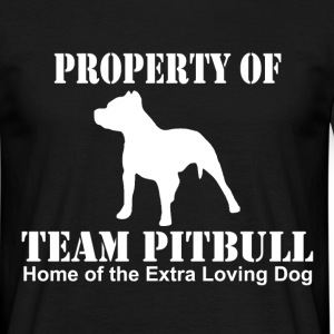 team pitbull home of the T-Shirts - Men's T-Shirt
