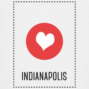 I Love Indianapolis Shirts - Teenage Premium T-Shirt