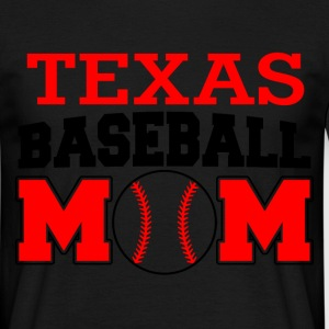 texas baseball mom T-Shirts - Men's T-Shirt