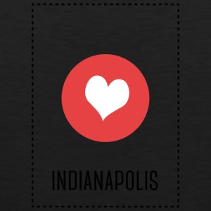 I Love Indianapolis Sports wear - Men's Premium Tank Top