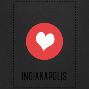 I Love Indianapolis T-shirts - Mannen T-shirt met V-hals