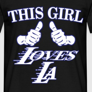 this girl loves that dallas hardwood T-Shirts - Men's T-Shirt