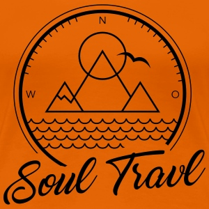 Soul Travl - Frauen Premium T-Shirt