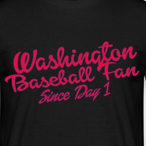 washington baseball fan T-Shirts - Men's T-Shirt