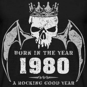 born_in_the_year_198014 T-Shirts - Männer T-Shirt
