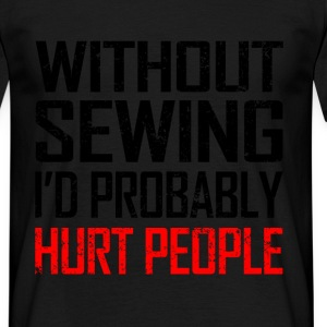 without sewing T-Shirts - Men's T-Shirt