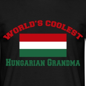 world's coolest hungarian grandma T-Shirts - Men's T-Shirt