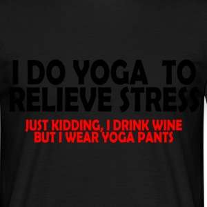 yoga to relieve stress T-Shirts - Men's T-Shirt