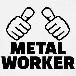 Metal worker T-Shirts - Männer T-Shirt