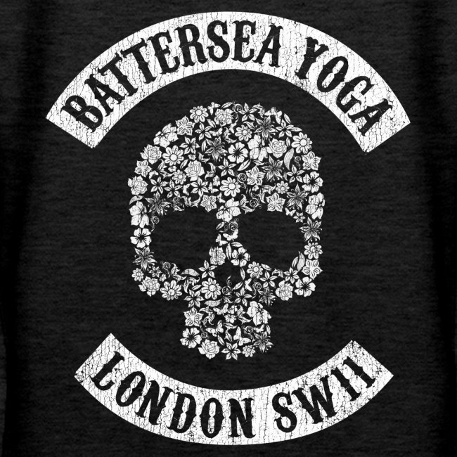 """Sons of Battersea"" Women's Hoodie (white logo)"