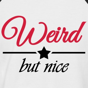 Weird but nice Tee shirts - T-shirt baseball manches courtes Homme