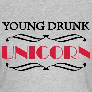 Young drunk unicorn T-shirts - Vrouwen T-shirt