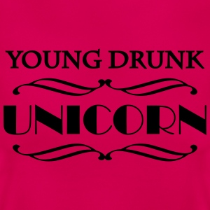 Young drunk unicorn T-shirts - Dame-T-shirt