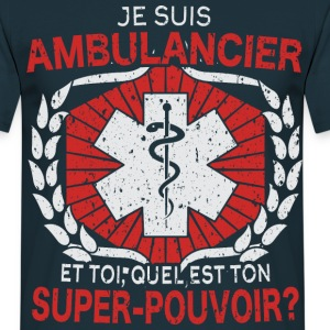 Ambulancier - t-shirt humour - T-shirt Homme