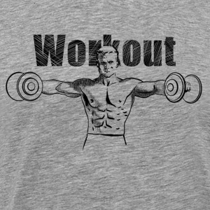 workout T-Shirts - Men's Premium T-Shirt