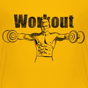 workout Shirts - Kinderen Premium T-shirt