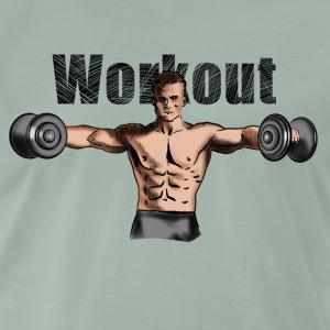 workout T-shirts - Mannen Premium T-shirt