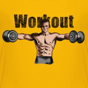 workout T-Shirts - Teenager Premium T-Shirt