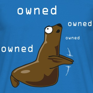 Owned-Seal - Men's T-Shirt