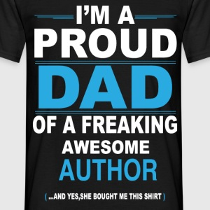 dad AUTHOR daughter T-Shirts - Men's T-Shirt