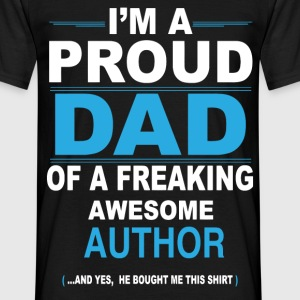dad AUTHOR son T-Shirts - Men's T-Shirt