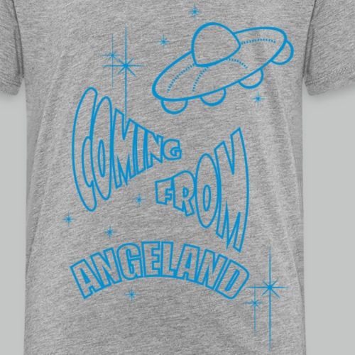 Coming From Angeland - UFO Light Blue