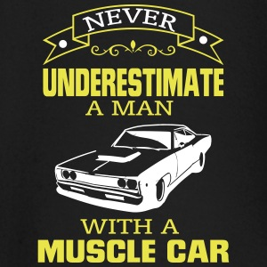 NEVER A MAN TO UNDERESTIMATE HIS MUSCLE CAR! Baby Long Sleeve Shirts - Baby Long Sleeve T-Shirt
