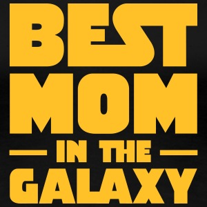 Best Mom In The Galaxy T-Shirts - Women's Premium T-Shirt