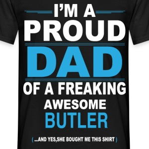 dad BUTLER daughter T-Shirts - Men's T-Shirt