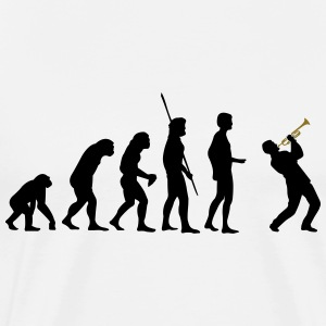 evolution Trompeter T-Shirts - Men's Premium T-Shirt