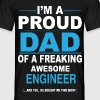 dad ENGINEER son T-Shirts - Men's T-Shirt