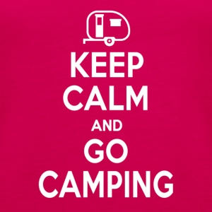 Keep calm and go camping - Women's Premium Tank Top