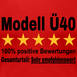 "Geburtstag T-Shirts mit ""Modell Ü40 Geburtstag"""