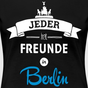 Freunde in Berlin - Shirt - Frauen Premium T-Shirt
