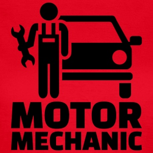 Motor mechanic T-Shirts - Frauen T-Shirt