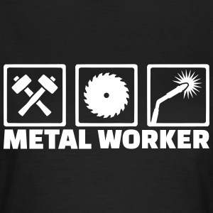 Metal worker T-Shirts - Frauen T-Shirt
