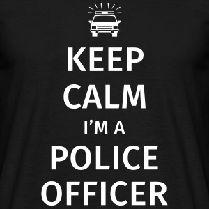 Keep Calm I'm A Police Officer T-Shirts - Männer T-Shirt