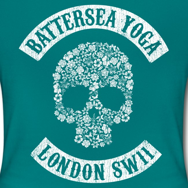 """Sons of Battersea"" Women's Fitted Tee (white logo)"