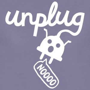 Unplug T-Shirts - Frauen Premium T-Shirt