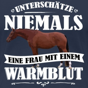 UN Warmblut T-Shirts - Frauen Premium T-Shirt