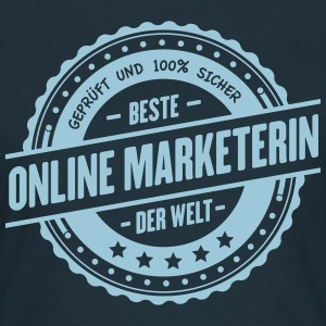 Beste Online Marketerin T-Shirts - Frauen T-Shirt
