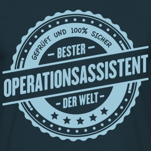 Operationsassistent T-Shirts - Männer T-Shirt