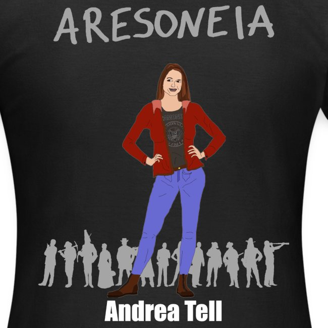 Aresoneia-Tell (Weiß) - Damen-Shirt