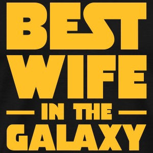 Best Wife In The Galaxy T-skjorter - Premium T-skjorte for menn