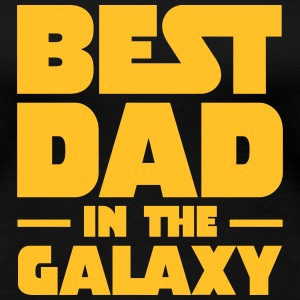 Best Dad In The Galaxy T-shirts - Vrouwen Premium T-shirt