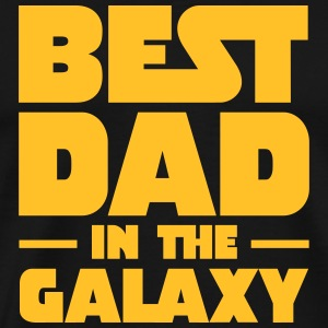 Best Dad In The Galaxy Koszulki - Koszulka męska Premium