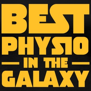 Best Physio In The Galaxy T-Shirts - Frauen Premium T-Shirt